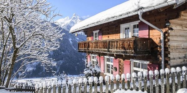 """""""Altes Schulhaus"""" im Winter"""