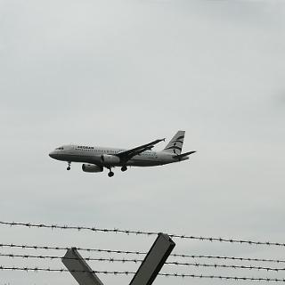 Landung Flughafen