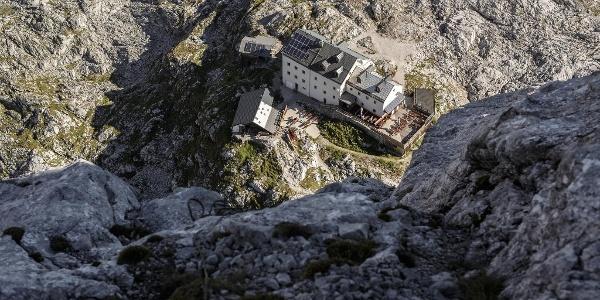 Riemannhaus von oben