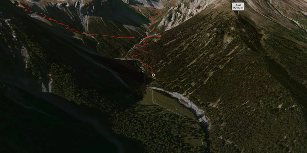 Bergtour in Graubünden: Sta.Maria, Prà da Vau - Lai da Rims - Alp Sot - Prà da Vau