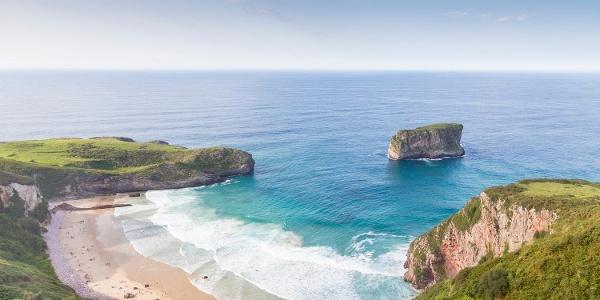 Coastal views in Llanes