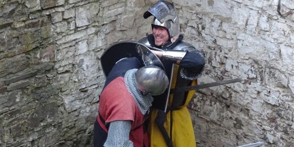 Ritterliches Gerangel: Ansgard von Portas zu Cölln und Berlewin von Alzey, Burggraf Zurno