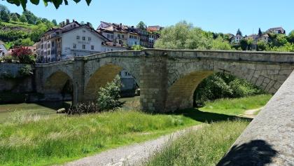 Pont St-Jean / St. Johannbrücke.