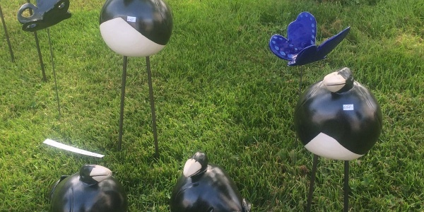 Trädgårdsdekorationer, fåglar