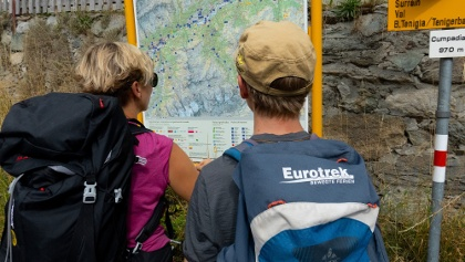 Wandern mit Eurotrek.