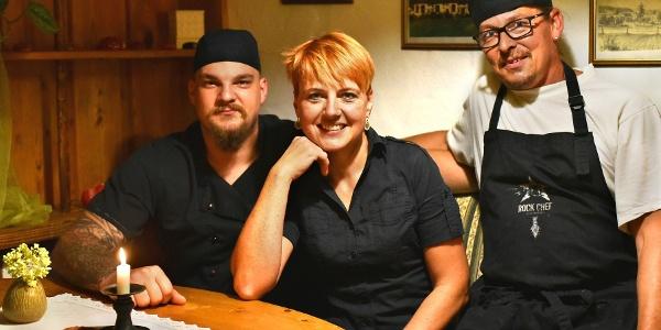 Team des Gasthaus Frohsinn