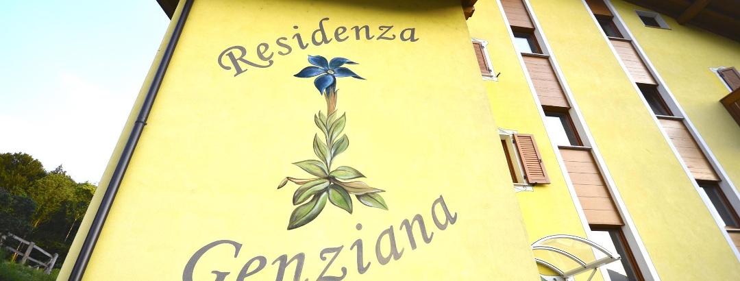 Esterno della Residenza Genziana