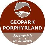 Geopark Porphyrland Steinreich in Sachsen Logo