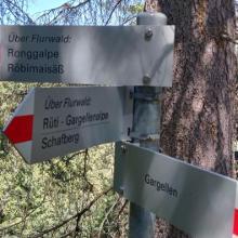 Foto von : Großer Dorfrundwanderweg (Geologischer Wanderweg) •  (07.06.2019 16:53:51 #1)