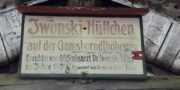 Iwonsky Hütte