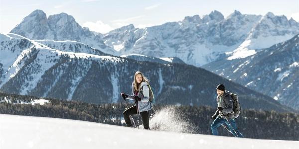 Schneeschuhwanderung Campill