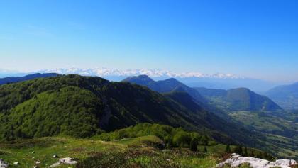 Blick auf den Col de la Verne
