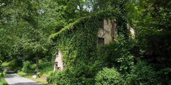 Altes Pumpenhaus auf dem Wennepfad