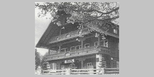 ehemaliges Waldgasthaus Waidmannsheil