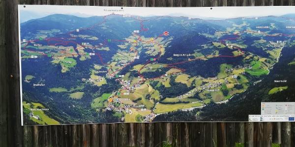 Gemeinde Arriach im Überblick