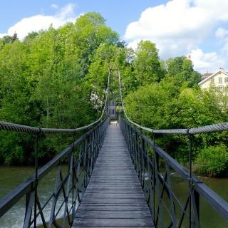 Rechensteg (Ganggelibrogg = Wackelbrücke)