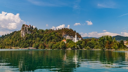 Bleder See mit Burg Bled