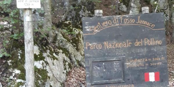 Ausgangspunkt Fosso Iannace
