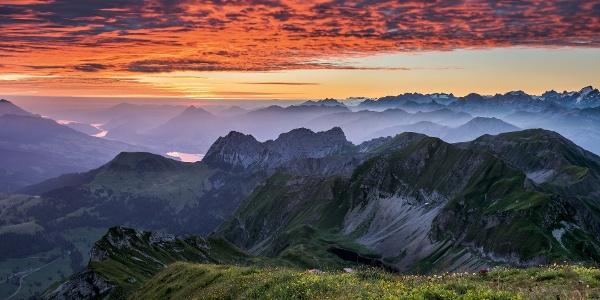 Sonnenaufgang auf dem Brienzer Rothorn - Einfach traumhaft