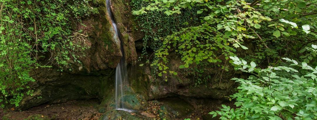 A Csurgó-kút vízesése