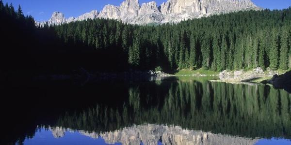 Karer See unterm Rosengarten