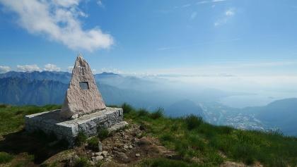 Gipfel des Monte Cerano