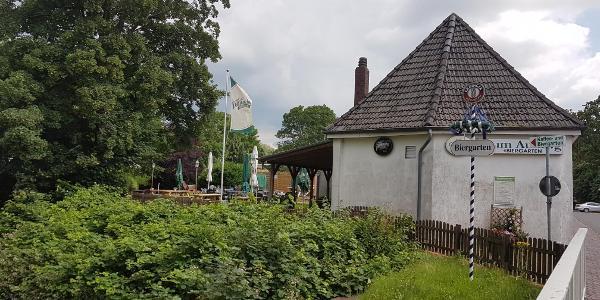 Biergarten in Borsfleht