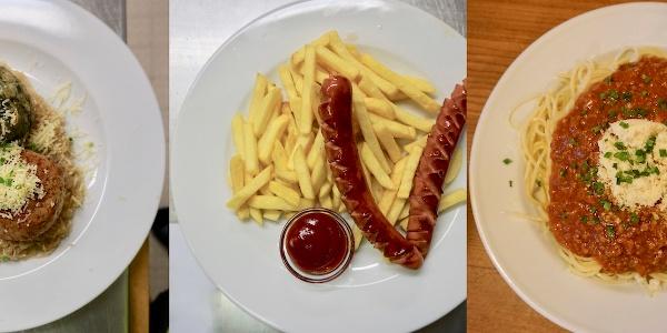Gutes Essen aus der Küche - guten Appetit