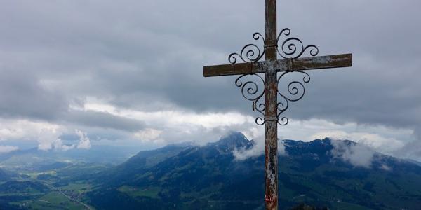 Gipfel des Kleinen Traithen.
