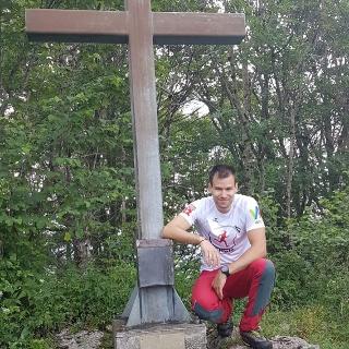 Hirschwaldstein Gipfelkreuz