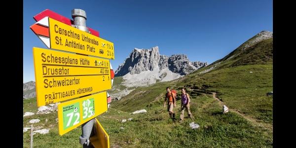 72 Prättigauer Höhenweg: In 4 Tagen von Klosters in die  Bündner Herrschaft