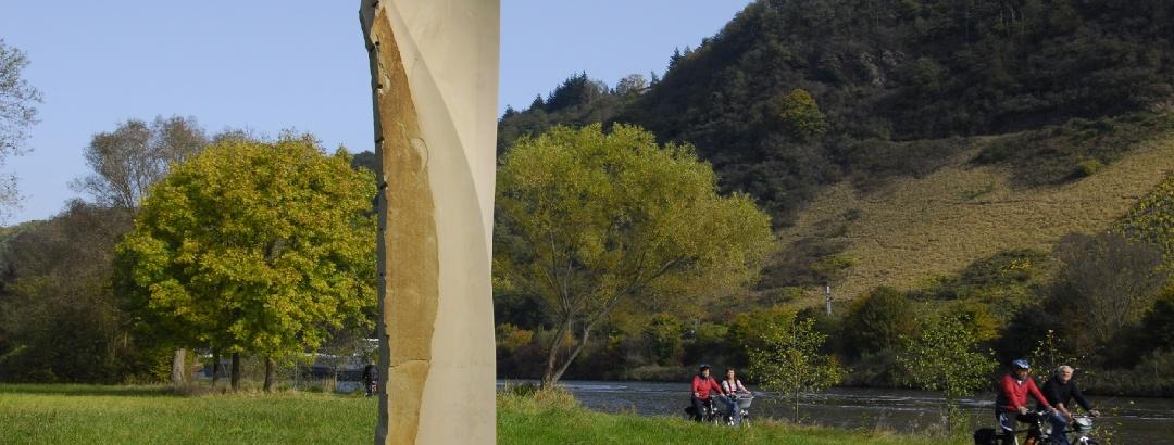 Saar-Radweg bei Konz-Könen