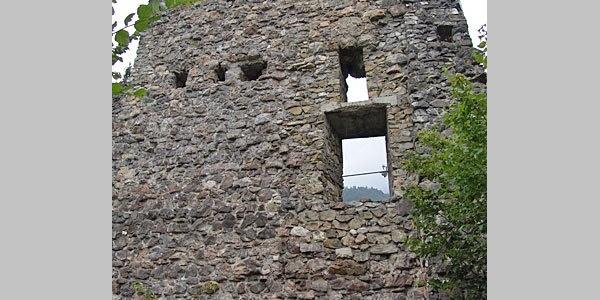 Nüziders, Burgruine Sonnenberg