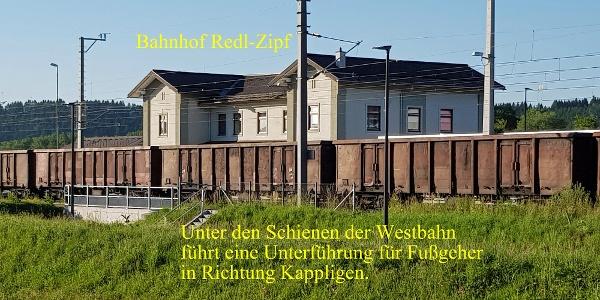 Der Bahnhof Redl Zipf