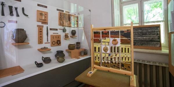 A Tessedik múzeum ideiglenes tárlata a Szarvasi Szárazmalomban
