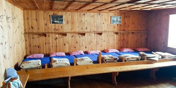 Hochstubaihütte - Matratzenlager