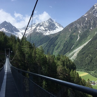 Suspension Bridge En Route