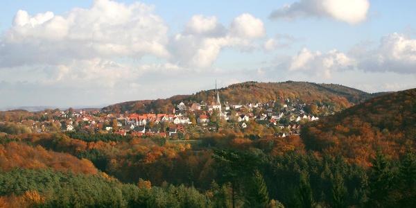 Blick auf Oerlinghausen