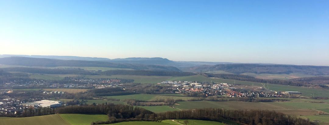 Blick vom Himmelbergturm