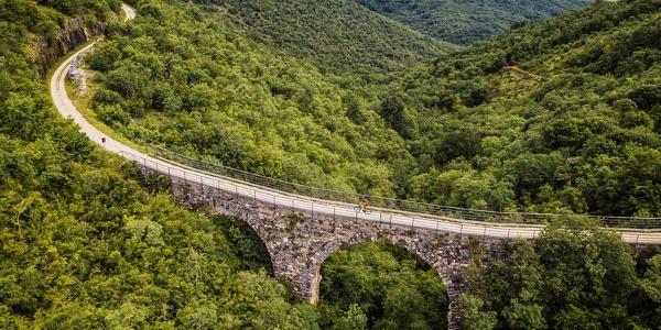 One of the bridges on Parenzana