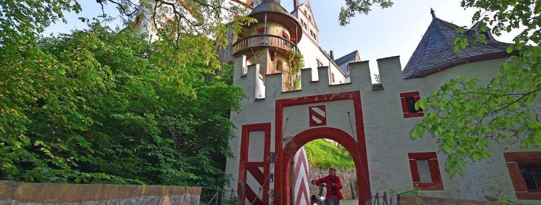 Schloss Rochsburg am Mulderadweg