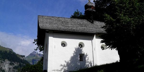 Kapelle südlch von Pigniu/Panix