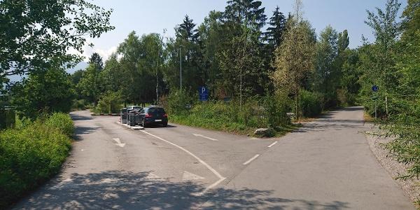 Parkplatz am Alten Rhein