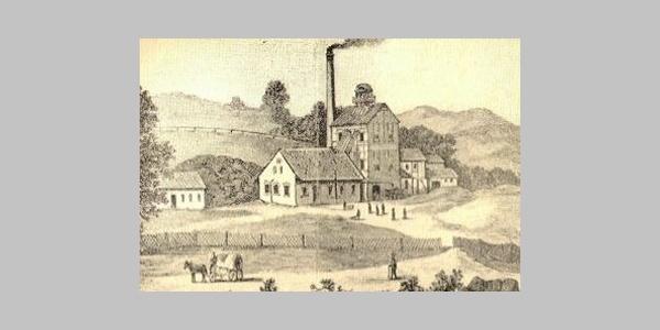 alte Bergbauzeichnung