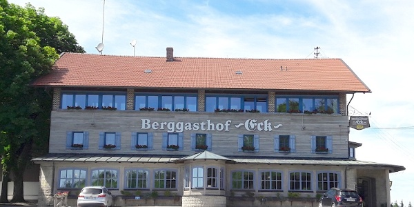 Start am Berggasthof Eck