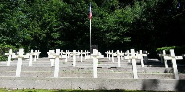 Cimetière militaire français du Col de Ste Marie aux Mines