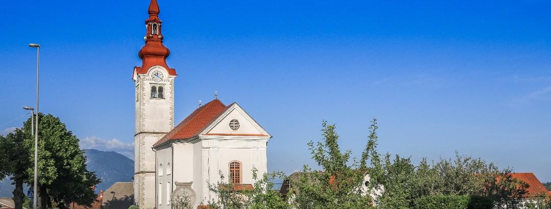 Gorje - cerkev sv. Jurija