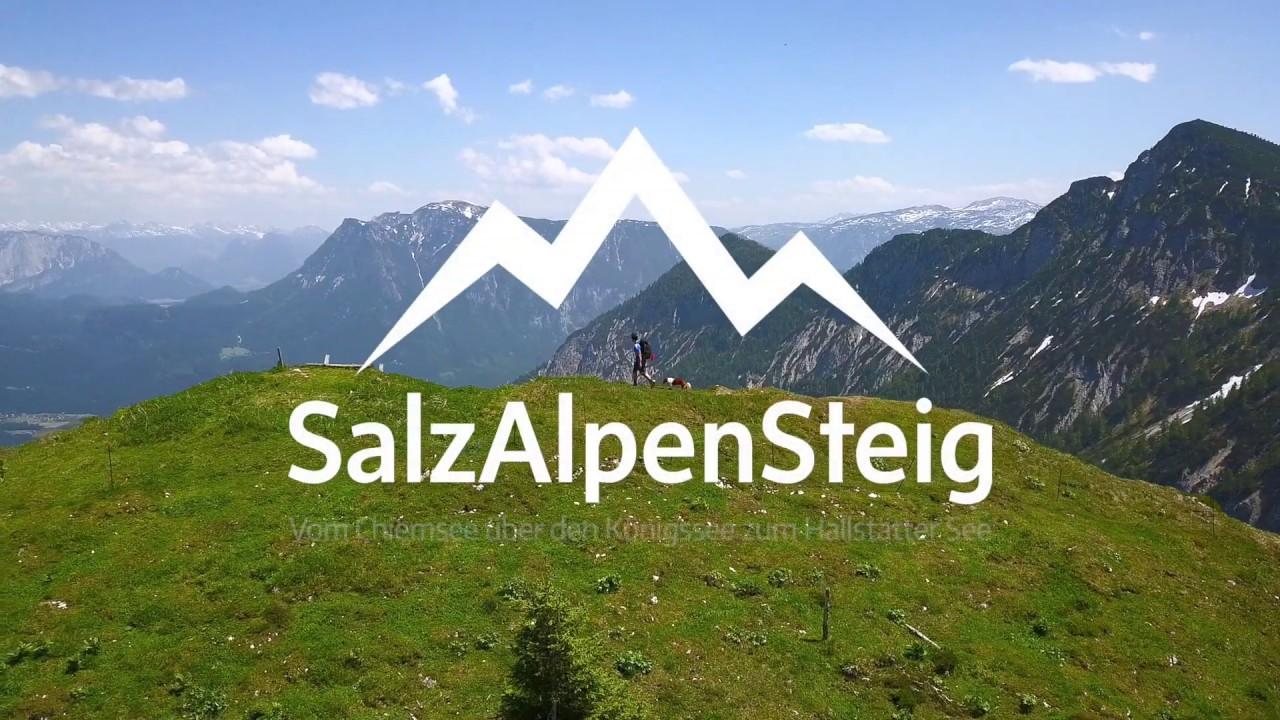 SalzAlpenSteig - Berge. Seen. Salz. - Zu Fuß vom Chiemsee bis zum Hallstätter See