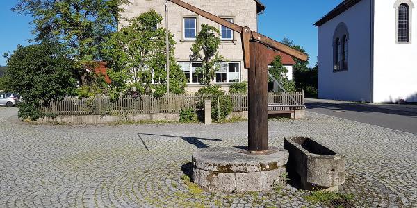 Dorfbrunnen Fabrikschleichach