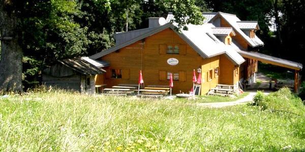 Die Stockerhütte im westlichen Wienerwald